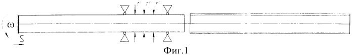 Способ термосиловой обработки длинномерных осесимметричных деталей и устройство для его осуществления