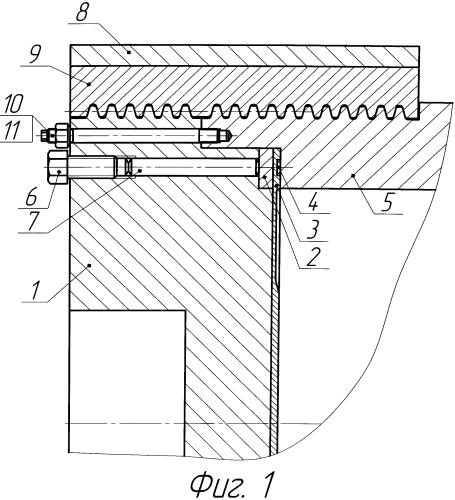 Затвор распределительной камеры для теплообменника