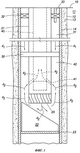Способ контролируемого вырезания окна в обсаженном стволе скважины с использованием перепада давления для перемещения фрезера