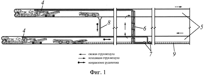 Способ блоковой подготовки и отработки сближенных пологих сильвинитовых пластов камерами