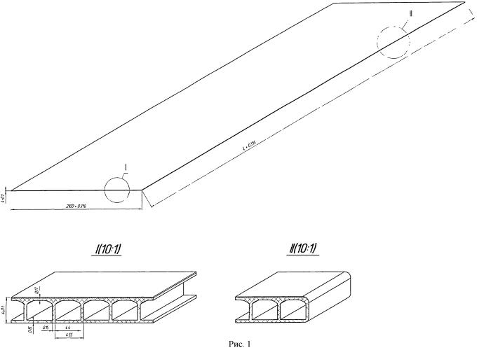 Лист сотового поликарбоната с арочной ячейкой