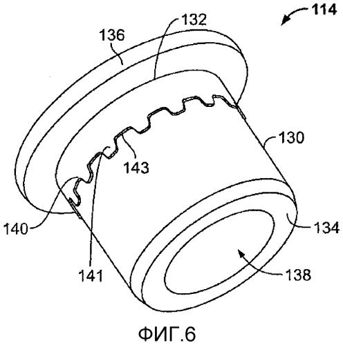 Кольцо с индикацией обжима