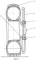 Способ бронезащиты пневмоколес транспортного средства на примере бронетранспортера