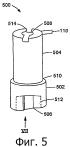 Одноразовый поршневой насос и механизм для внутривенного вливания