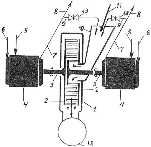 Способ транспорта продуктов по трубопроводу и устройство для его осуществления