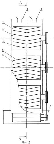 Агрегат для перемешивания сыпучих материалов