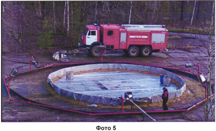 Способ ликвидации аварийных разливов сжиженного природного газа или сжиженного углеводородного газа комбинированной водовоздушной пеной низкой и средней кратности (варианты) и система для его реализации