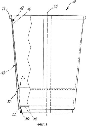 Бумажный стакан и способ изготовления этого стакана