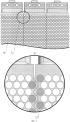 Радиатор сотового типа с турбулизирующими вставками для охлаждения масла и воды