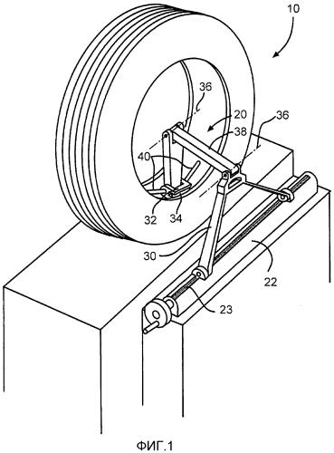 Направляемый вручную инструмент для шерохования шины