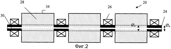 Распределяющий элемент, роликовая линия и устройство для непрерывной разливки