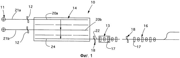 Способ производства длинномерного металлического проката и литейно-прокатный агрегат непрерывного действия для производства такого проката