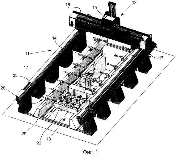 Устройство для облегчения панелей или тонких пластин путем удаления материала