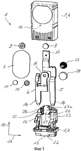 Миниатюрный предохранительный выключатель