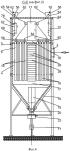 Фильтр рукавно-картриджный для очистки воздуха от механических примесей со встроенным компрессорным модулем для получения сжатого воздуха