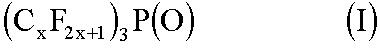 Способ получения трис (перфторалкил) фосфиноксида