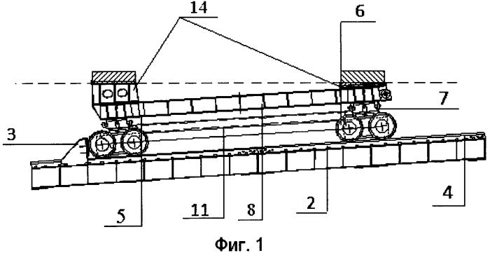 Оснащение для монтажа тяжелого судового оборудования и способ монтажа