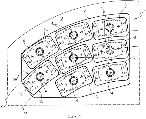 Накладка дискового тормоза для применения в железнодорожном транспорте и транспортном средстве промышленного назначения
