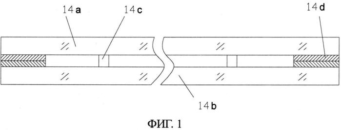 Устройство для непрерывной обработки элемента из вакуумного стекла