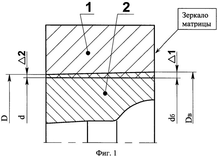 Матрица для высадки деталей сложного профиля
