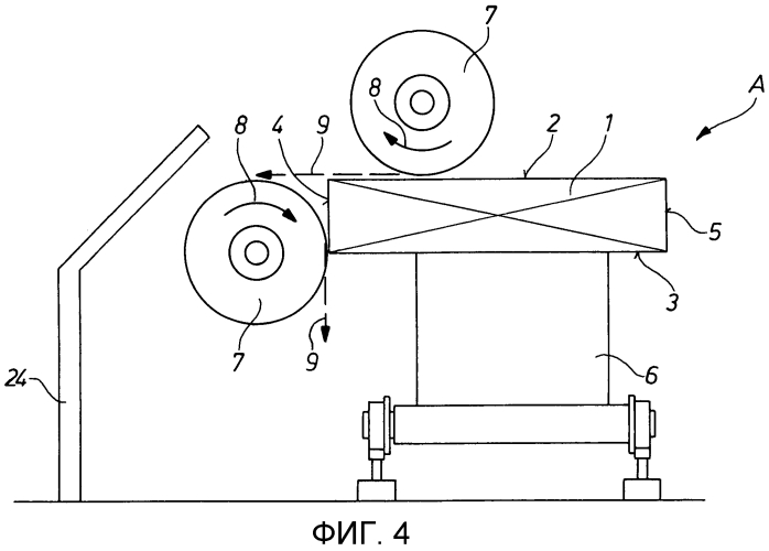 Способ и устройство для шлифования непрерывнолитого изделия