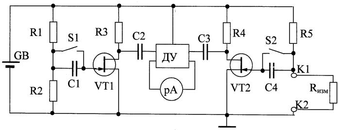 Устройство диагностирования контактных соединений в электрооборудовании автомобиля