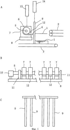 Устройство для укладки и подачи листовых изделий