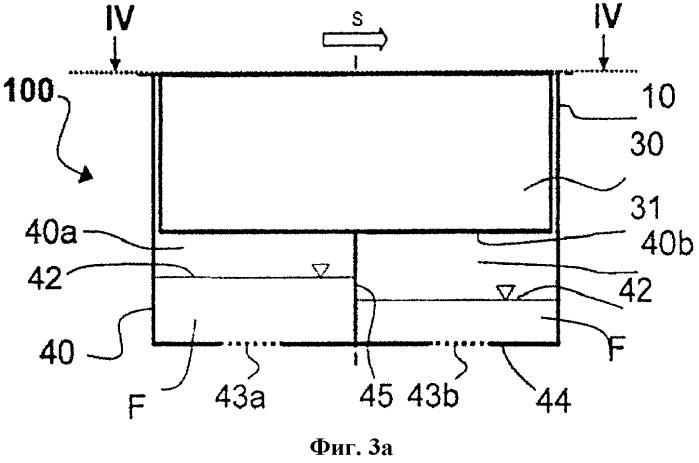 Пластинчатый сепаратор с отстойником