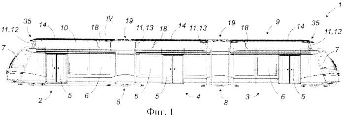 Токосъемник для питания моторных и вспомогательных узлов наземного транспортного средства