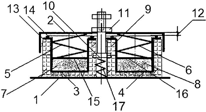 Виброизолятор для технологического оборудования