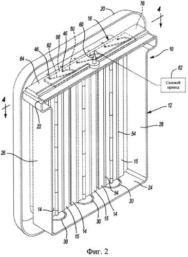 Система жалюзи для решетки радиатора транспортного средства