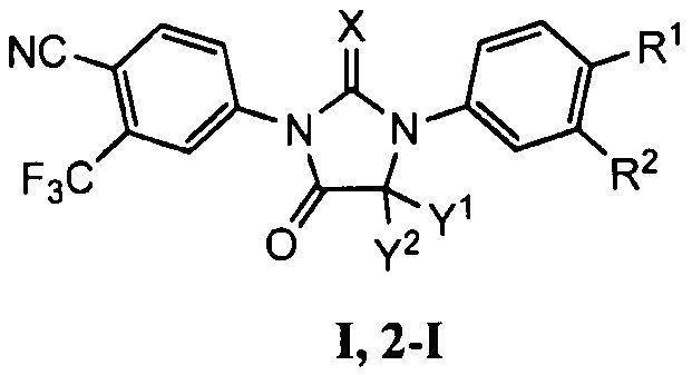 Способ синтеза соединений диарилтиогидантоина и диарилгидантоина