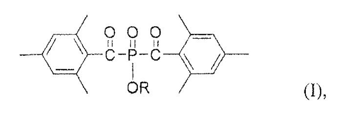 Жидкий бис(ацил)фосфиноксидный фотоинициатор d1492 и его применение в отверждаемых облучением композициях