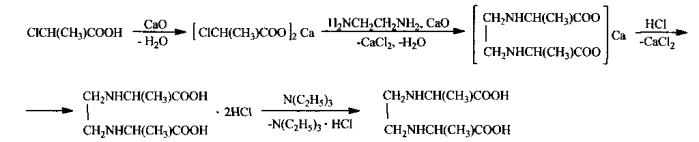 Способ получения этилендиамин-n,n-ди-α-пропионовой кислоты