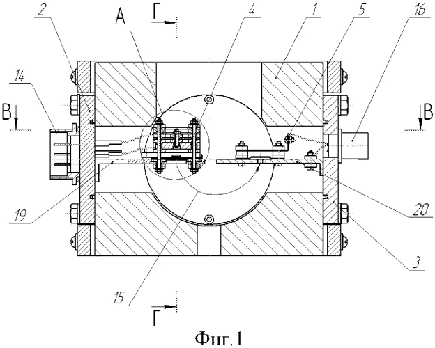 Масс-спектрометрический анализатор газового течеискателя