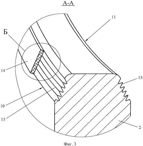 Фланцевая металлическая прокладка