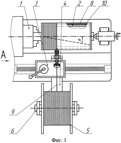 Способ изготовления резинокордных патрубков