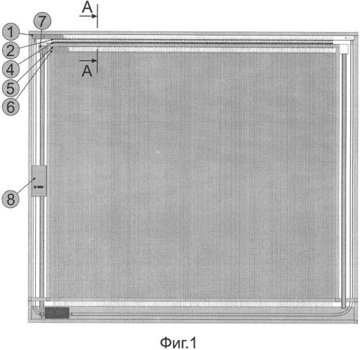 Устройство и способ формирования изображения на вертикальных плоских или криволинейных потоках жидкости