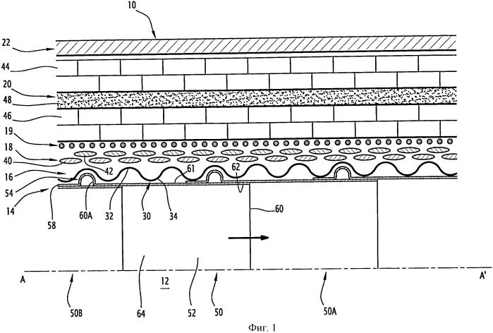 Гибкий трубопровод для транспортировки криогенной текучей среды и соответствующий способ изготовления