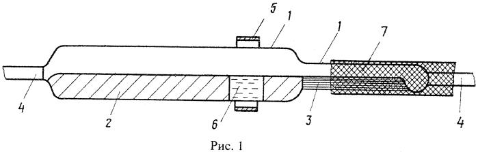 Радиатор для отвода тепла от затравки при выращивании монокристаллов в вакуумированной стеклянной ампуле