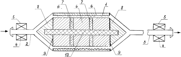 Устройство для комбинированной магнитной обработки жидкости