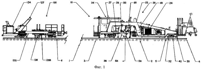 Управляемая шпалоподбивочная машина