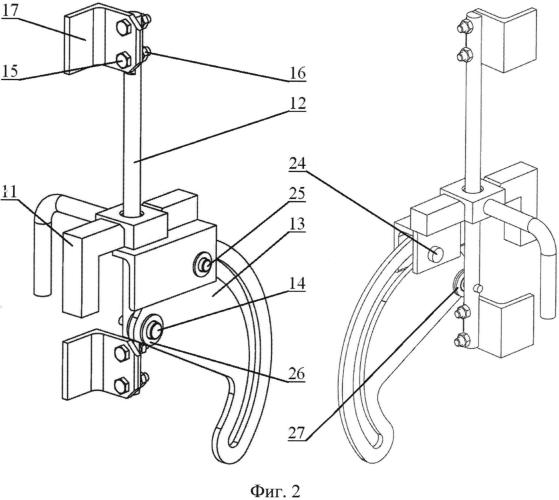 Механизм запирания дверей крытого вагона