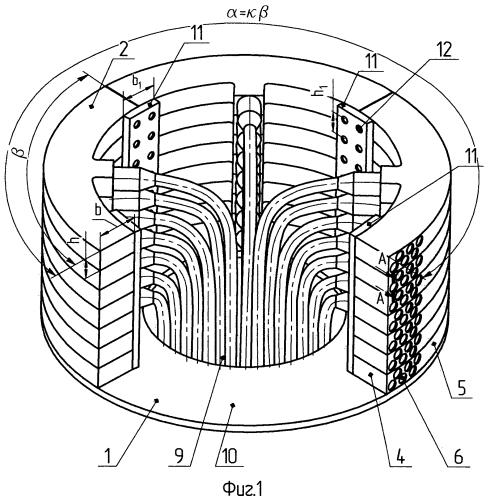 Многоэлементная гидроакустическая антенна