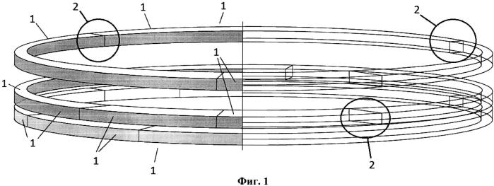 Способ производства деревянного полукруглого конструктивного элемента для деревянной купольной или сферической конструкции