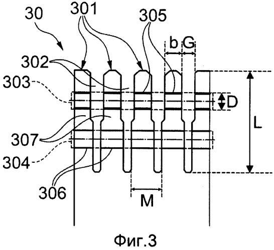 Крепления хвостовиков лопаток роторов турбин