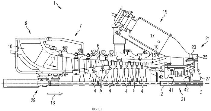 Газотурбинный двигатель и способ эксплуатации газотурбинного двигателя