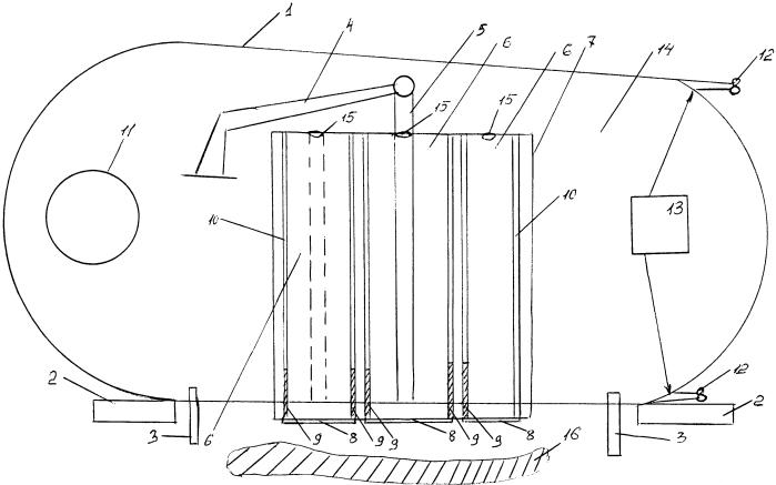 Способ добычи газовых гидратов донных отложений и устройство для его осуществления