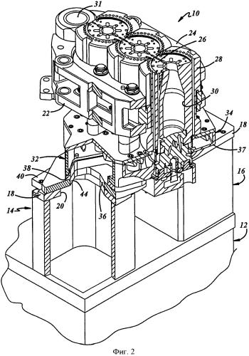 Устройство подачи охлаждающего воздуха в пресс-форму для изготовления стеклянных изделий