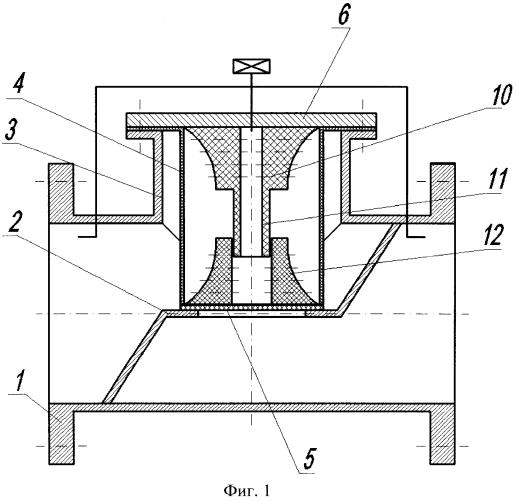 Клапан для перекрытия трубопроводов